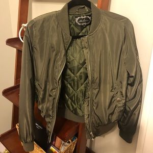 BOMBER JACKET 🔥🔥 ARMY GREEN